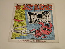 THE JAZZ BUTCHER -  A SCANDAL IN BOHEMIA - LP 1984 GLASS RECORDS MADE IN UK -
