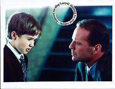Lot of 3, Haley Joel Osment, Bruce Willis, color stills The Sixth Sense (1999)