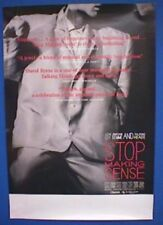 Talking Heads - Stop Making Sense - Venue Promo Poster