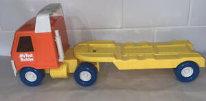 Light Up My First Buddys Buddy L Semi Truck Trailer Carrier Auto Hauler Vintage