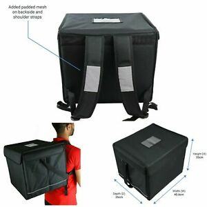 Backpack Delivery Bag Foil Insulated Food Pizza Delivery for Motorbikes & Bikes
