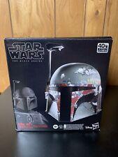 Hasbro Star Wars The Black Series Boba Fett Premium Electronic Helmet - E7543