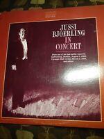 RARE GOLD SEAL Jussi Bjorling-In Concert Vinyl LP FIRST PRESSING RCA AGM1 4923