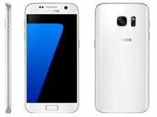 Téléphones mobiles blancs Samsung Galaxy S7