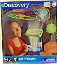 DISCOVERY ART PROJECTOR AGES 6+ PROJECTS ON WALLS AND CEILINGS