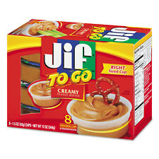 Jif To Go Spreads Creamy Peanut Butter 1.5 oz Cup 8/Box 24136