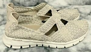 ☆Sketchers Air-Cooled Memory Foam Shoes, Grey/Silver Sparkle☆Size 7☆Brand New!☆