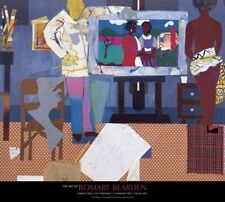 Profile/Part II The Thirties Artist with Painting and Model Romare Bearden 26x29