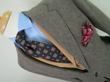 Classic VTG Southwick Speckled tweed three in two roll sport coat 38 S