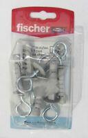 Fischer tasselli in nylon SBN 9/3 con occhiolo chiuso 6 pz x cartongesso 504662