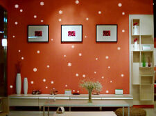 Adesivi e stancil da parete bianca di arte