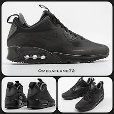 Nike Air Max 90 SNEAKER BOOT MID SP Inverno 806808-002 Sz UK 6, EUR 40, USA 7