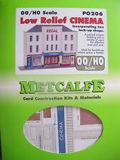 Metcalfe Kit PO206. Low relief cinema. OO Gauge