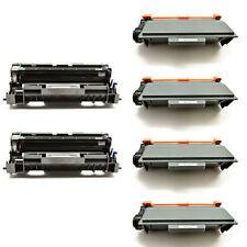 4PK TN750 Toner+2PK DR720 Drum For Brother MFC-8510DN 8515DN HL-5440DN 5445D