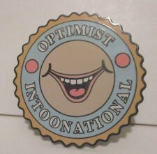 DISNEY DISNEYLAND TOON TOWN OPTIMIST INTOONATIONAL LIMITED EDITION 2400 PIN DLR