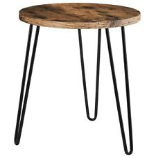 Brown End Table Coffee Side Night Stand Small Round Nesting Table End Side Table