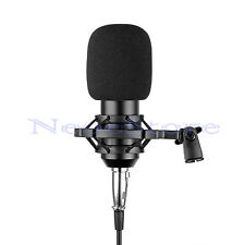 Pro studio Condensateur Microphone Dynamique MIC w / shock mount & diaphragme capsule