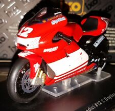 IXO DUCATI DESMOSEDICI #12 Troy Bayliss 2005 MOTO BIKE GP DIECAST SCALE 1:24 NEW