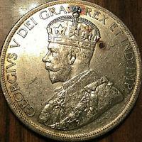 1936 CANADA SILVER DOLLAR - Fantastic example in full details!