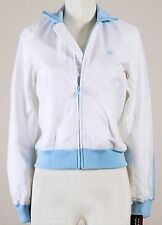 NWT POLO JEANS COMPANY 67 RALPH LAUREN WARM UP BOMBER JACKET WHITE BLUE $79  S