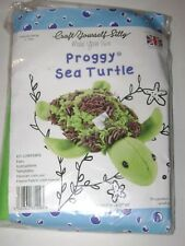 Craft Yourself Silly PROGGY SEA TURTLE Kit UK-Made