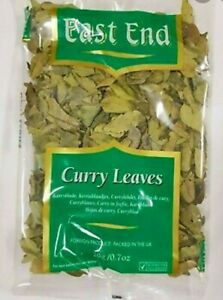 East End Curry Leaves 20g FREE FAST DELIVER