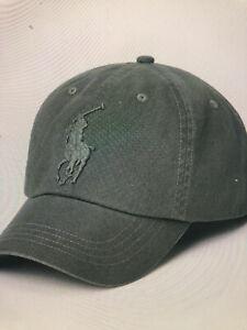 New NWT Polo Ralph Lauren Big Pony Chino Ball Cap Hat