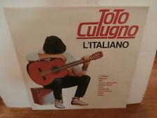 """toto cutugno""""l'italiano""""lp12""""italie.carosello/orizzonte:orl8779 de 1983"""
