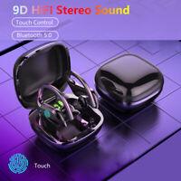 TWS Bluetooth 5.0 Headset Twins Wireless Headphone 9D Stereo Earphones Earbuds