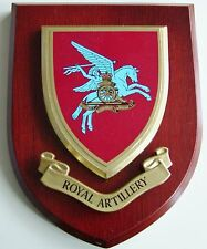 ROYAL ARTILLERY AIRBORNE CLASSIC HAND MADE REGIMENTAL MESS PLAQUE