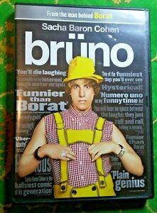 """""""BRUNO"""" - SACHA BARON COHEN - DVD 2009 DELUXE EDITION EXCELLENT!"""