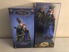 NEW Disney Fairytale Designer Collection Anna & Kristoff Dolls Limited Edition
