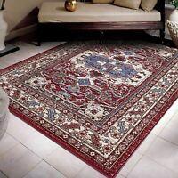 A2Z Rug Geometric Floor Rugs Transitional Border Pattern Living Room Area Carpet