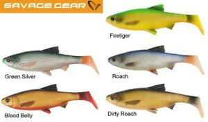 Savage Gear new 3D LB River Roach Paddle tail lures pike predator  crazy price