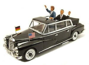 RIO 1:43 1963 Mercedes-Benz 300L with Kennedy and Adenauer, #RIO4264P