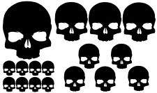 18 x Punisher Set Aufkleber JDM Auto OEM Shocker BikeTotenkopf Skull DUB sterne