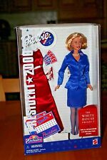 President 2000 (1999) Toys R Us Exclusive Barbie-New-NRFB