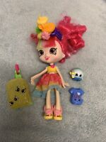 Shopkins Shoppies - Vacation Donatina Doll With 2 Shopkins & Suitcase