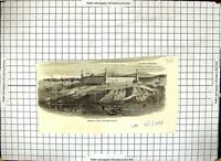 Old Barracks Scutari British Hospital River Scene Boats Architecture