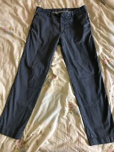 Mens 36w Hackett Trousers London Cotton Sanderson Tailored Chino Trousers 36R