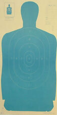 "Official NRA B-27 Blue silhouette targets 23"" x 45"" (50 targets)"