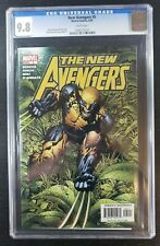 The New Avengers #5 (Marvel 2005) Cgc 98 Whit Pages - Finch Wolverine