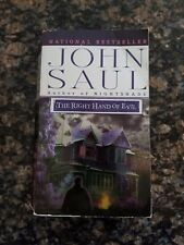 The Right Hand of Evil John Saul suspense Paperback 2000 book