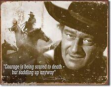 Large JOHN WAYNE Vintage Retro Poster Cowboy Film Icon Metal Tin Sign 1429 New