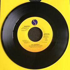 "Ramones Pet Sematary USA 1-Track Promo 7"" Punk New Wave Sex Pistols The Damned"