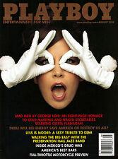 US-Playboy 08/2010     DEMI MOORE & CRISTA FLANAGAN      August/2010