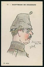 art Stick caricature Germany WWI ww1 war humor patriotic propaganda postcard