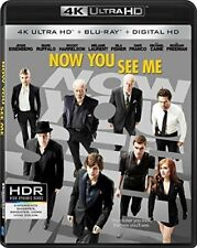 NOW YOU SEE ME****4K ULTRA HD BLU-RAY****REGION FREE****NEW & SEALED