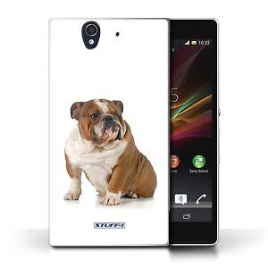 STUFF4 Case/Cover for Sony Xperia Z/Dog Breeds/Bulldog