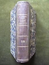 L'ANNEE SCIENTIFIQUE ET INDUSTRIELLE 20 1876 Louis Figuier Science Technique
